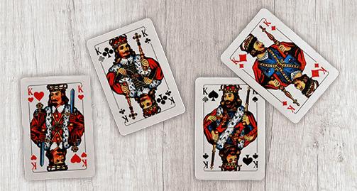 Skatkarten König