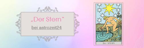 Tarotkarte Stern