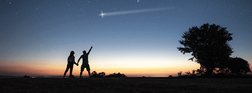 Sternschnuppen Wünsche